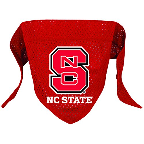 Hunter Mfg. LLP NCAA North Carolina State Wolfpack Pet Bandana, Team Color, Small