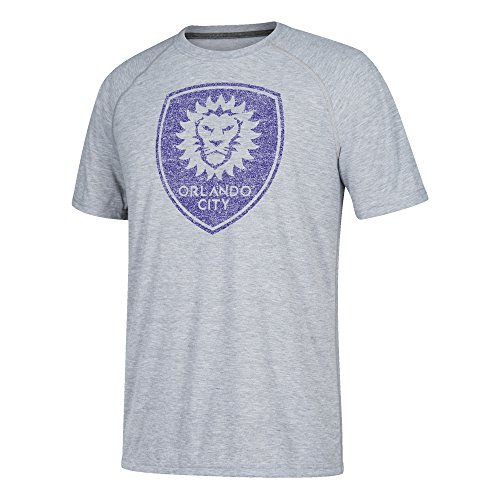 fan products of MLS Orlando City FC Adult Men Fabrication Ultimate S/Tee, Large, Medium Grey