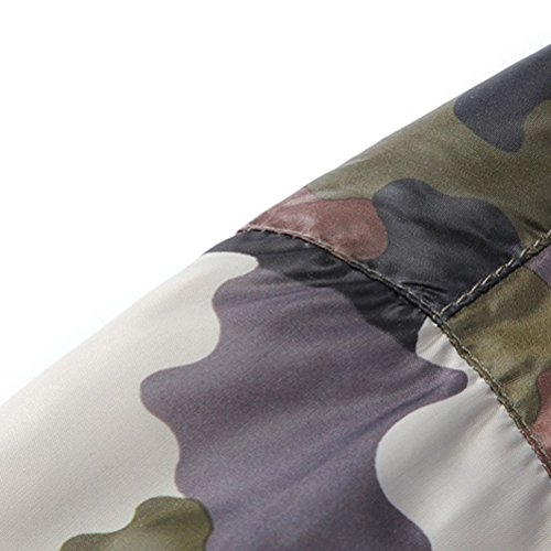 All'aperto Camouflage Jacket Zipper Blue Fashion Men Zhhlaixing thin Wild Ultra qw5HZWB