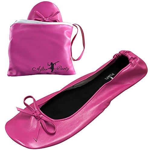 Donna Borsetta Pink Scarpe Da Candy Ballerine np8YW7P0