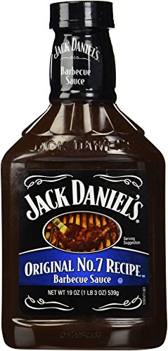 Jack Daniel's BBQ Sauce, Original No. 7 Recipe,19oz,