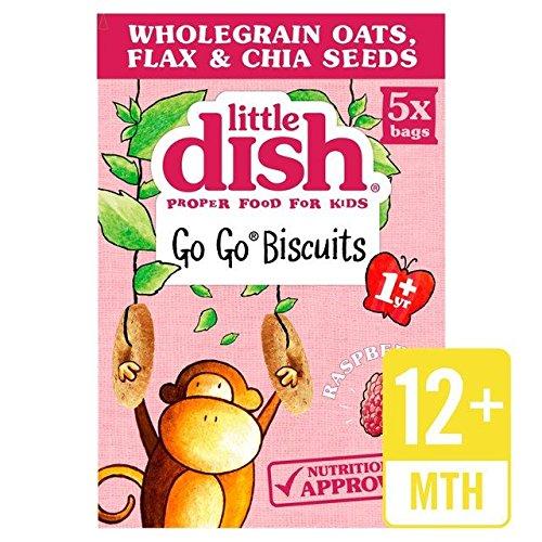 Little Dish Go Gos 1 Yr+ Raspberry 5 x 25g