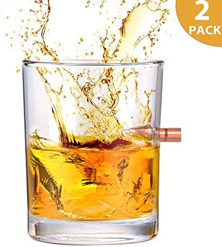 Kollea Bullet Hand Blown Whiskey Glass product image