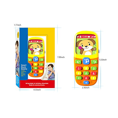Review TOYK-3D Music Mobile Phone-Toddler