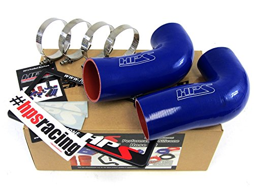 HPS 57-1291-BLUE Blue Silicone Air Intake Hose (Post MAF Tube) by HPS (Image #1)