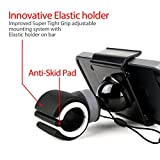 Koomus BIKEGO-2 Universal Smartphone Bike Mount Holder Cradle for all iPhones and Android Devices
