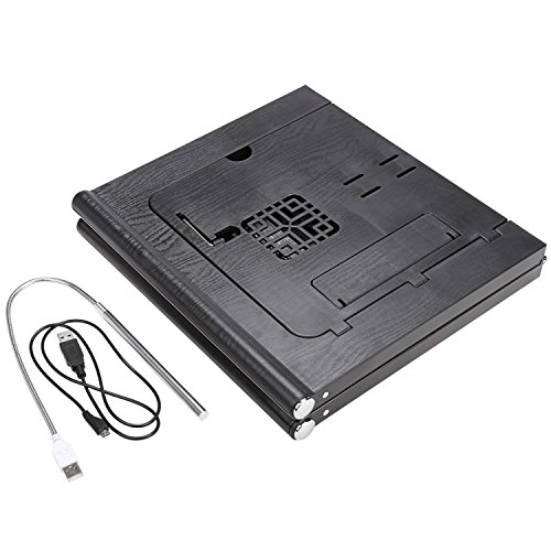 Adjustable Smart Table Folding Laptop Table with Built-in Rechargeable Power Bank and 2USB Ports by Dtemple (Image #7)