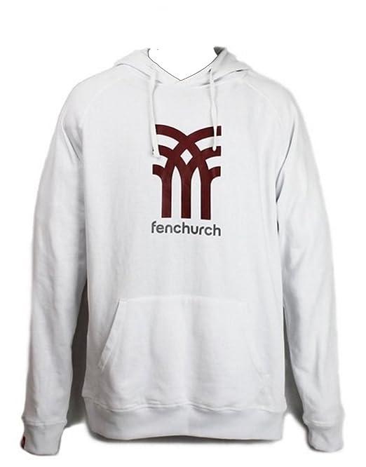 Fenchurch - Sudadera con capucha - para hombre blanco blanco 48: Amazon.es: Ropa y accesorios
