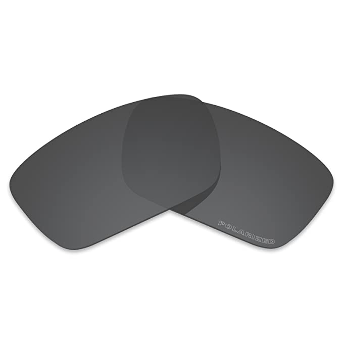 b2c13eadd239a Amazon.com  Tintart Performance Lenses Compatible with Oakley Fuel Cell  Polarized Etched-Carbon Black  Clothing