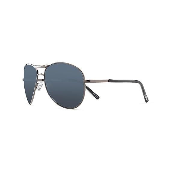 California Style Co. Bucanon Gafas de Sol, Negra, 140 Unisex ...