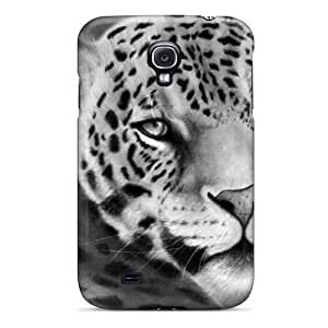 Fashion Tpu Case For Galaxy S4- Leopard Silhouette Defender Case Cover