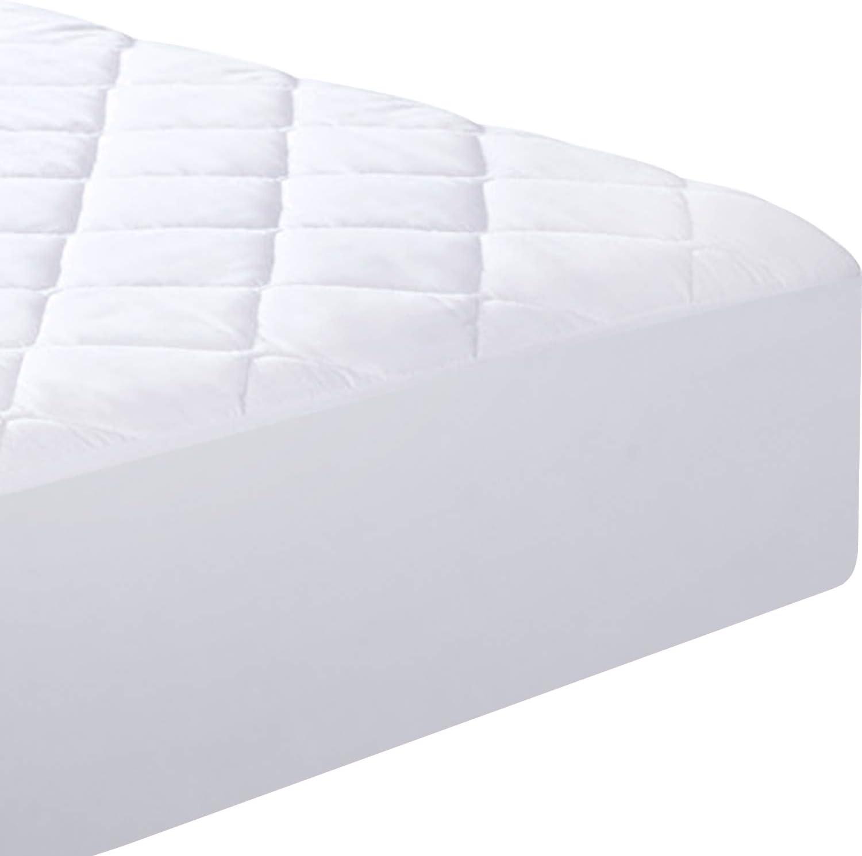 Amazon.com: Utopia Ropa de cama Colchón Acolchado Pad Cover ...