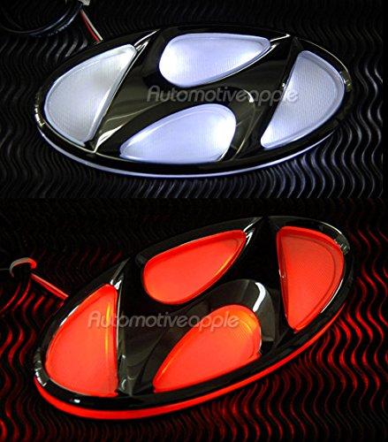 led emblem hyundai - 7