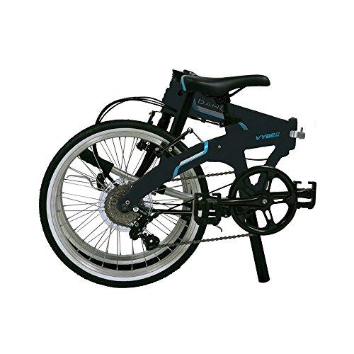 Dahon Vybe D7 7 velocidades 20 pulgadas negro de aluminio bicicleta plegable: Amazon.es: Deportes y aire libre