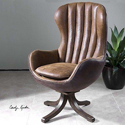 Cheap Uttermost Garrett Swivel Accent Chair