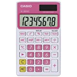 Casio SL-300VC Standard Function Calculator, Pink