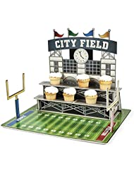 Large Football Stadium Cupcake Holder - Party Tableware Serveware