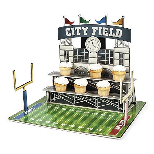 Large Football Stadium Cupcake Holder - Party Tableware Serveware ()