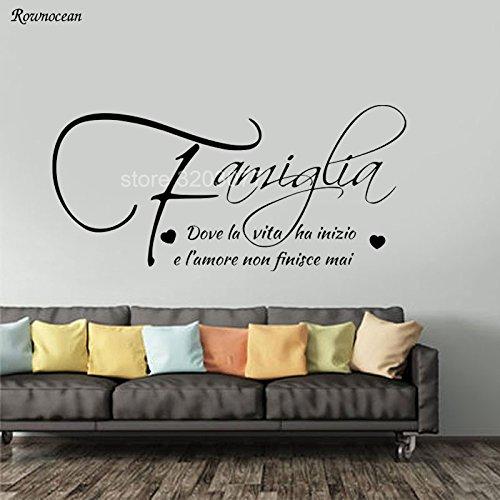 jiushizq Citas de Amor de la Familia en el Mural de la Pared ...