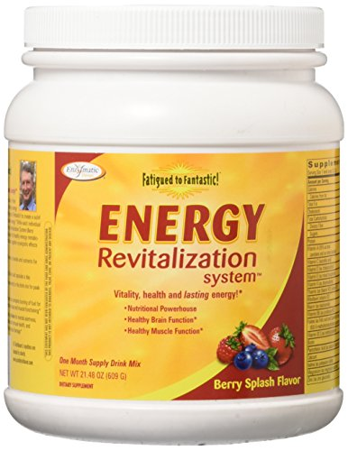Fatigued to Fantastic Energy Revitalization System - Berry Splash Flavor, [21.48Oz (609g) ] Berry Splash