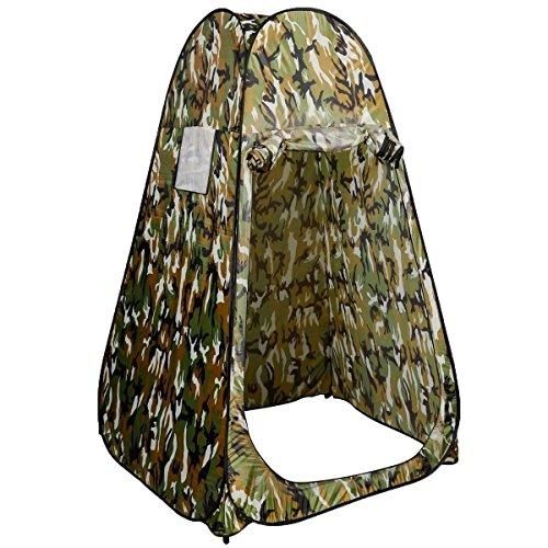 Generic YC-US2-160128-185 <8&30811> ouflageg Toilet Ch Toilet Changing Tent Portable Pop UP Camping Room Fishing & Bathing Camouflage Portable Po by Generic (Image #1)