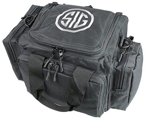 Sig Sauer SigTac Tactical Handgun Pistol Revolver Range Bag w/ 5 Pockets & Shoulder Strap
