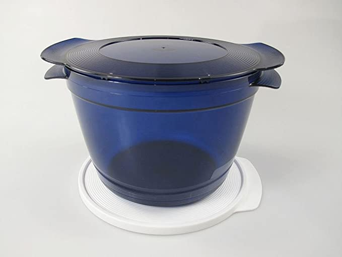 TUPPERWARE Microcook de 2,25 l azul 8670: Amazon.es: Hogar