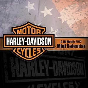 Harley-Davidson 2012 Large Mini Calendar DateWorks