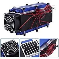 Mini Air Conditioner,DC 12V 576W 8-Chip TEC1-12706 DIY Thermoelectric Cooler Air Cooling Device