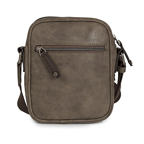Cremallera Polipiel Color Messenger Over De Sintética Mensajero Al Cierre Múltiples Man 25520 Bolso Bolsa Compartments Compartimentos Shoulder Bag Hombre Multiple Piel Bandolera Zipper Leatherette Leatherette Color 25520 Lois Bag Hombro Brown His Black Con Shoulder Lois Negro Marrón aw6CxA11q