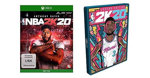 NBA 2K20 Standard Edition inkl. Steelbook (exkl. bei Amazon.de ...