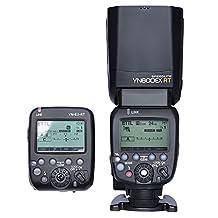 YONGNUO YN600EX-RT Wireless ETTL Master Flash Speedlite + YN-E3-RT Speedlite Transmitter for Canon DSLR Camera