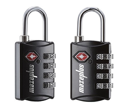Mazeplus TSA Approved Luggage Locks – Travel