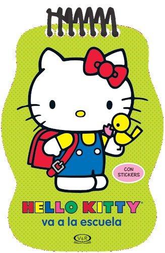 Download Hello Kitty Va A La Escuela (Con Stickers pdf epub