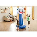 "Intex Shootin Hoops Set, Inflatable Basketball Hoop, 82"" X 41"" X 38"", for Ages 3+"