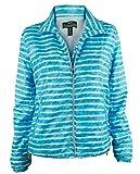 Ralph Lauren Active Women's Zip-Up Striped Active Jacket-TW-S