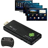 Creazy MK809IV Android 4.4 TV Dongle Box Quad Core Mini PC 1080P 3D + 2.4G Air Mouse