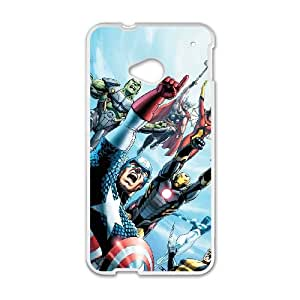 HTC One M7 Cell Phone Case White Marvel comic 010 HIV6755169569366
