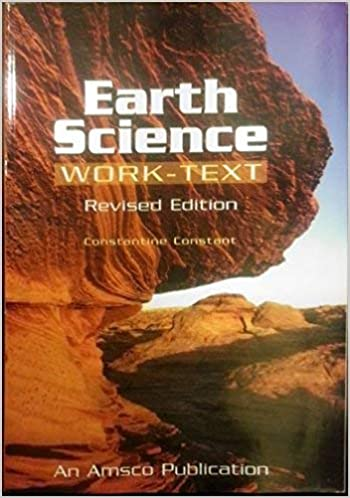 Earth Science Work Text 9780877201908