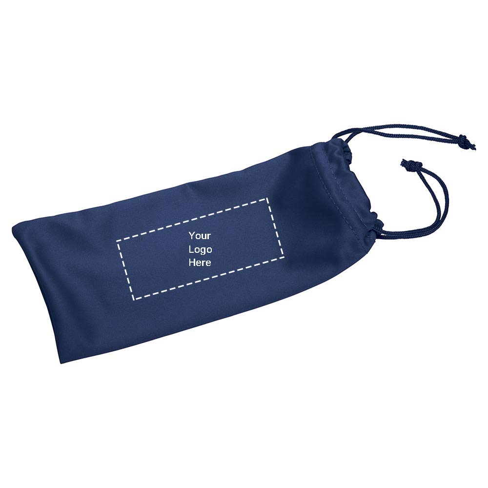 Paradise Sunglass Pouch |150 Qty |1.28 Each | Customization Product Imprinted & Personalized Bulk with Your Custom Logo Royal Blue by Promo Direct