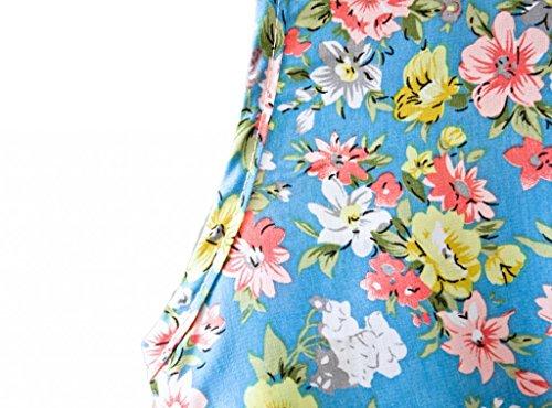 Jupe Flore Printemps Manches Femmes Dantiya Une Pièce De Jp09 Robe Sundress