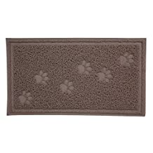 Arm & Hammer 23.5-Inch X 14-Inch Litter Mat with Paw Design