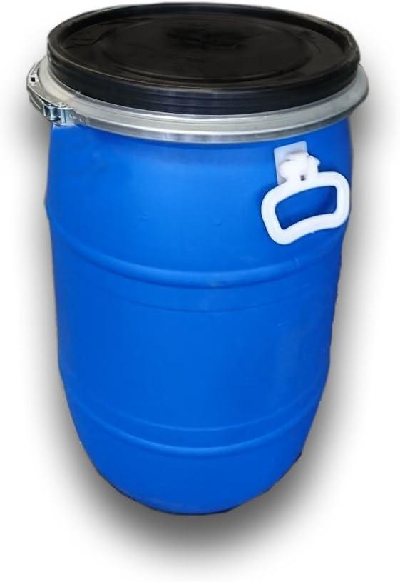 Jardin202 - Bidón de plástico con Boca Ancha de 60 litros: Amazon ...
