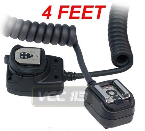 Vivitar FCCAN Flash Cord for Canon Digital Cameras (Black)