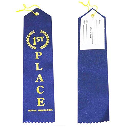 Place Blue Award Ribbons String