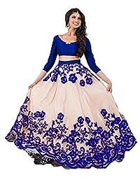 F4style Exclusive Indian Designer Semi Stitch Lehenga Choli Women