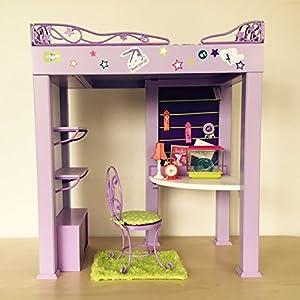 Amazoncom American Girl Mckenna McKennas Loft Bed Set Toys