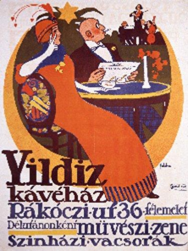 Yildiz der beste preis amazon in savemoney yildiz kavehaz vintage poster artist foldes hungary c 1910 9x12 art fandeluxe Images