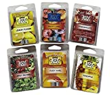 Coo Candles 6 Pack Soy Wickless Candle Wax Bar Tart Melts - Fruity Pack - Includes one 6 Cube Package of Each of Fruity Loops, Lemon Pucker, Mango Papaya, Pomegranate, Pineapple, and Apple Orchard