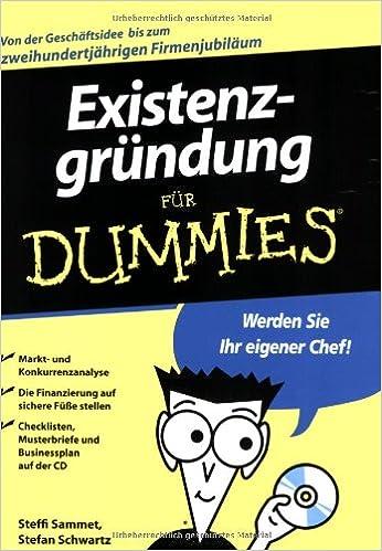 Book Existenzgrundung fur Dummies (Für Dummies)